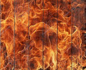 Огонь пламя деталь
