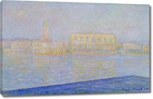 Моне Клод. Дворец Дожей вид из Сан-Джорджо Маджоре, 1908 01
