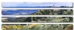Удивительный пейзаж Тосканы