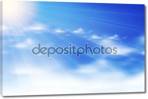 облака фона, eps10