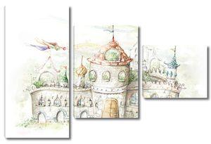 Сказочный замок с феями