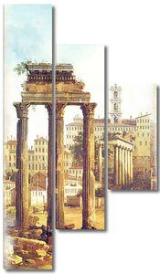 Фреска с разрушенным Римом