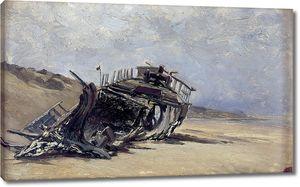 Аэс Карлос де. Обломки корабля