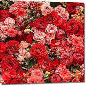 Абстрактный фон цветы