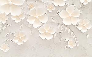Кремовые цветочки