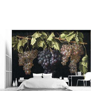 Фернандес (Эль Лабрадор) Хуан.  Натюрморт с четырьмя гроздьями винограда