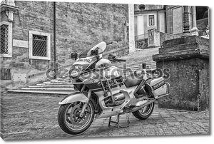 мотоцикл полиция в Риме