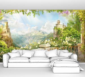 Вид на замки с балкона
