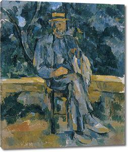 Поль Сезанн. Портрет крестьянина