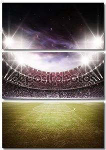 Стадион ночью