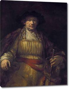 Рембрандт. Автопортрет (1658)