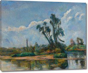 Поль Сезанн. Река