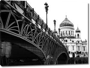 собор и мост через реку