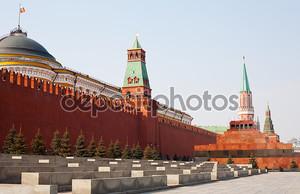 день вид на Красной площади