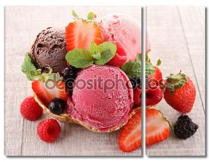 ГКНП мороженого и ягод