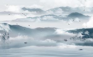 Рваные облака над сопками