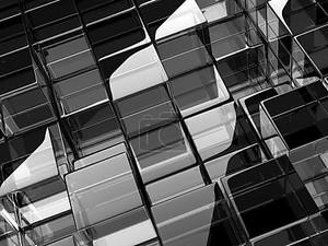 Стеклянных кубов черные