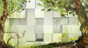 Кубики, сказочные деревья и феи