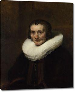 Рембрандт. Портрет Маргариты де Гир жены Якоба Трипа