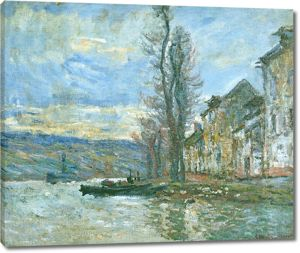 Моне Клод. на, зима, 1879