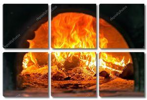 Традиционная итальянская печь