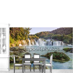 Водопады реки Крка, Далмация, Хорватия