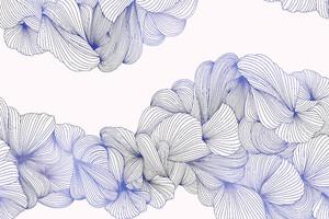 Lusso-переплетение фиолетовых линий на розовом