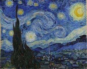 Ван Гог,  Звёздная ночь