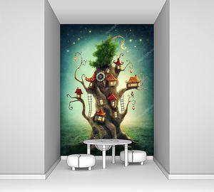 Волшебный елочный домик