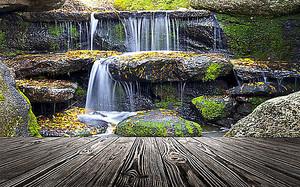 Ступенчатый водопад
