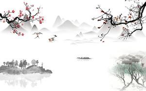 Азиатские пейзажные мотивы