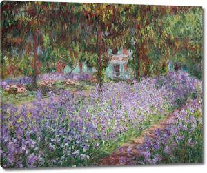 Моне Клод. Ирисы в саду Моне, 1900 01