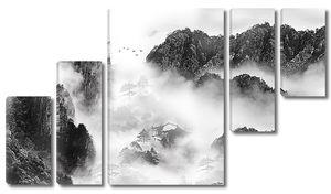 Туман сел в горах