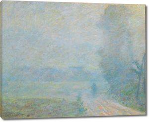 Моне Клод. Путь в тумане, 1887