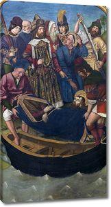Бернат Мартин. Перемещение тела св. Иакова Старшего во дворец Королевы Лупы