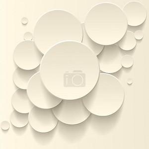векторный фон круги