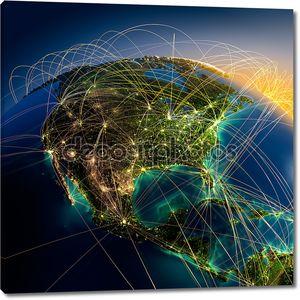 Воздушные маршруты на Земле