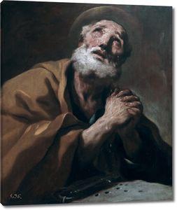 Джордано Лука. Слезы святого Петра