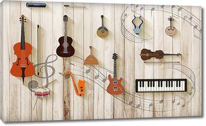 Инструменты на досках