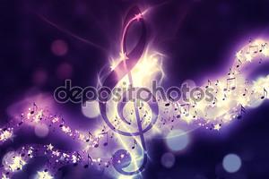 Светящийся фоновая музыка