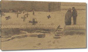 Ван Гог. Погост зимой