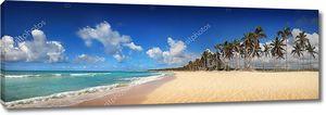 Экзотический тропический пляж