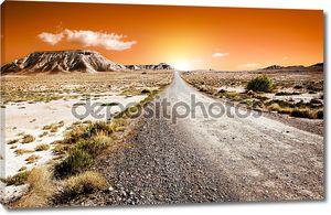 Пустынный пейзаж