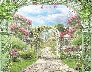 Аркада в саду