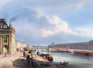 Солнечный день на набережной в Венеции