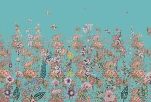 Птицы, цветы и розы