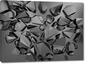 Фон абстрактный полигональных кристалл