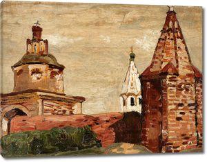 Николай Рерих. Суздаль. Александро-Невский монастырь