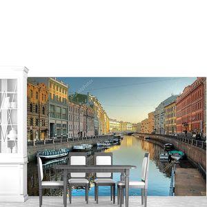 Вид на канал в Санкт-Петербурге_