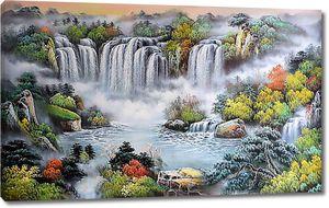 Царство водопадов
